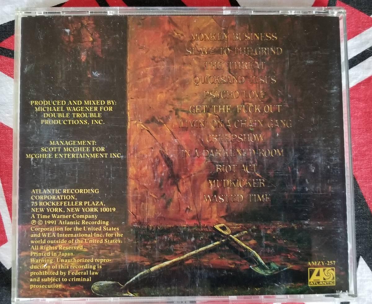 SKID/ROW(スキッド・ロウ)/ スレイヴ・トゥ・ザ・グラインド(国内盤)CD初回限定盤_画像3