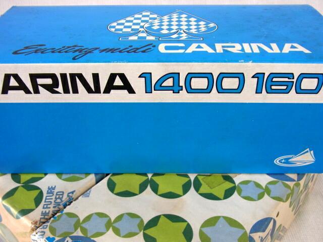 蔵出◆ 未開封 シガレットケース トヨタ カリーナ 1600 エキサイティング・ミディ 3点 まとめて ◆ CARINA 1400 1600 置物 当時物_画像10
