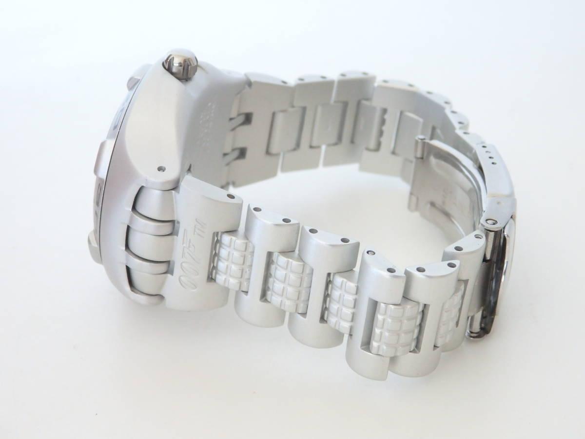<本物 良品 Swatch スウォッチ 腕時計 IRONY アイロニー 007 コラボ作品 稼働品 電池交換済み>2.13.1 ☆定形外発送OK☆ 290円_画像4