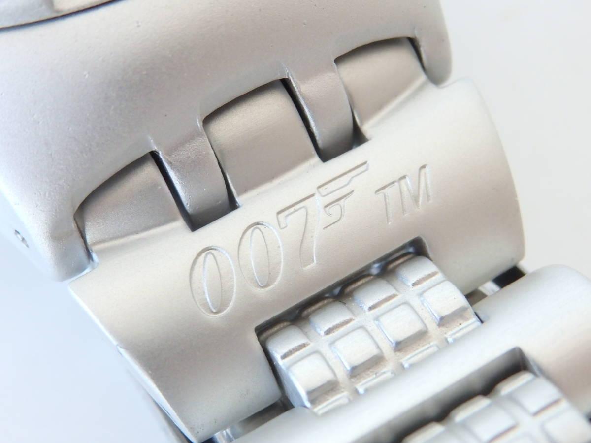 <本物 良品 Swatch スウォッチ 腕時計 IRONY アイロニー 007 コラボ作品 稼働品 電池交換済み>2.13.1 ☆定形外発送OK☆ 290円_画像6