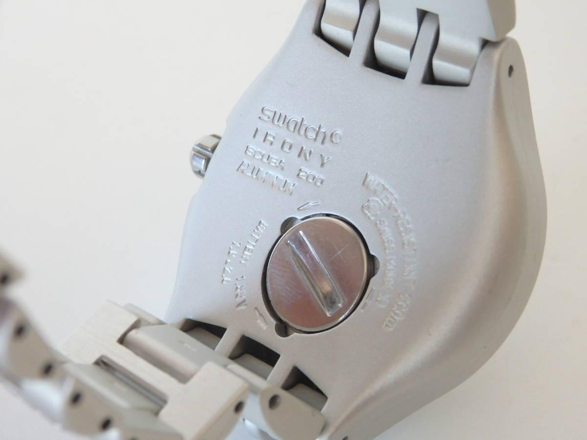 <本物 良品 Swatch スウォッチ 腕時計 IRONY アイロニー 007 コラボ作品 稼働品 電池交換済み>2.13.1 ☆定形外発送OK☆ 290円_画像9
