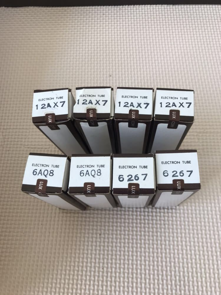 EYM41 LUXMAN ラックスマン 真空管 TU38F スペアチューブキット 50CA10 12AX7 6AQ8 6267 _画像4
