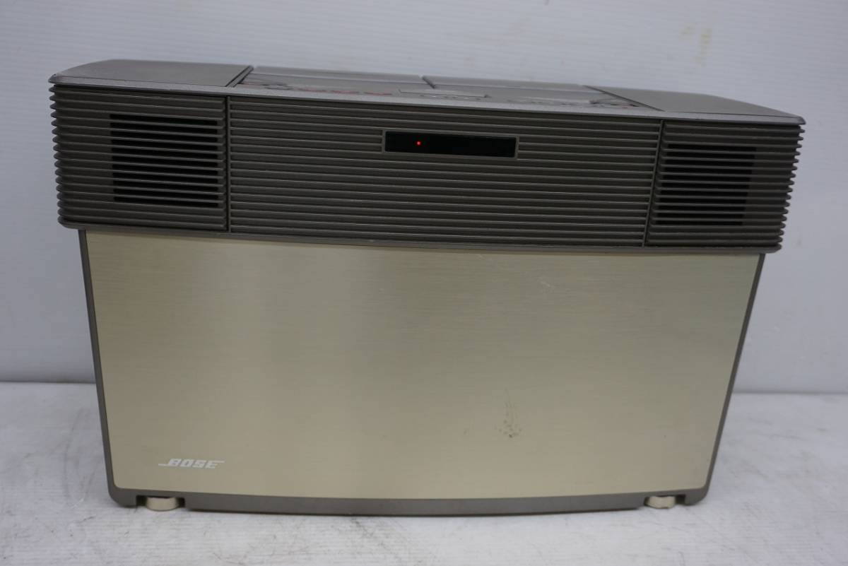 (w05145) BOSE CDラジカセ ACOUSTIC WAVE STEREO MUSIC SYSTEM AWM ボーズ ジャンク