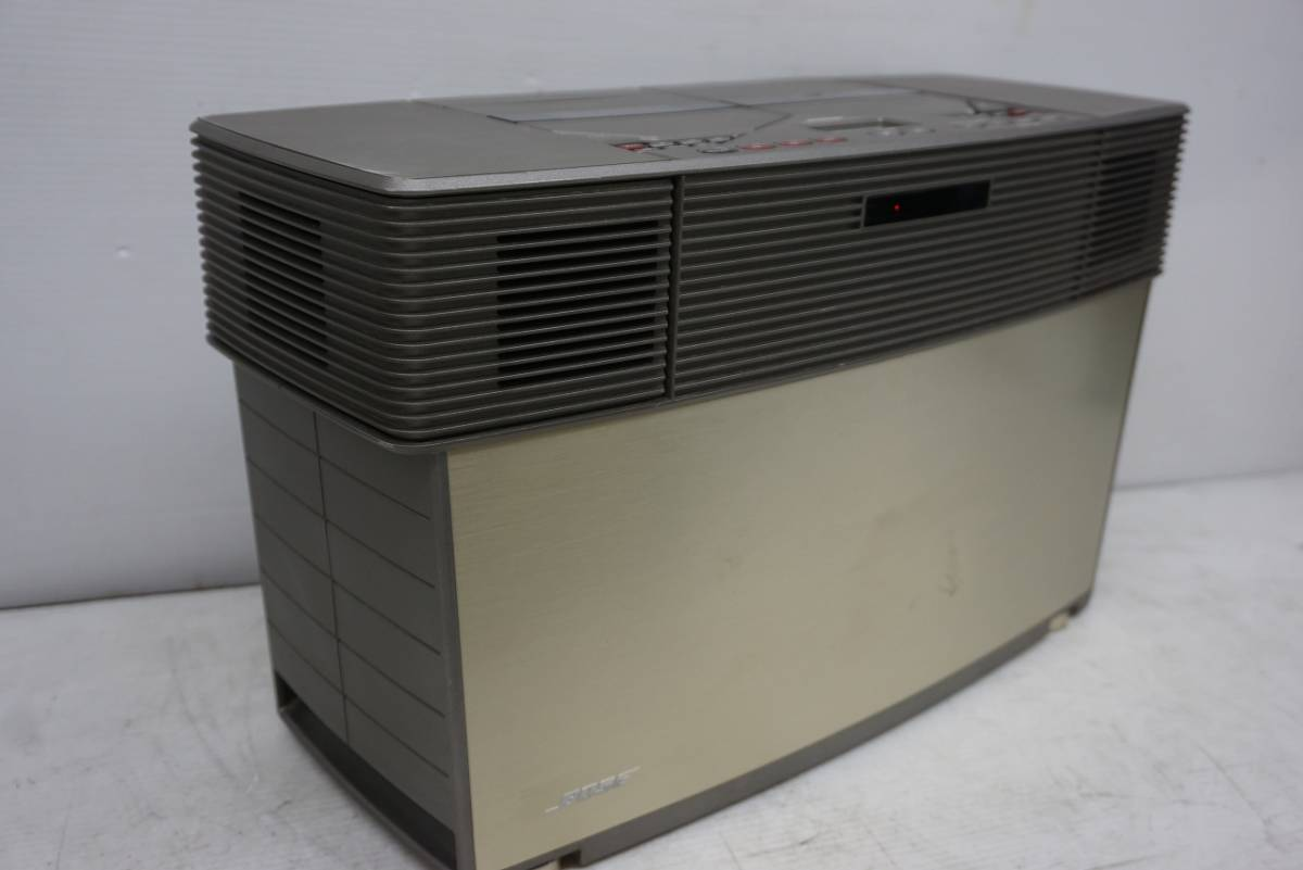 (w05145) BOSE CDラジカセ ACOUSTIC WAVE STEREO MUSIC SYSTEM AWM ボーズ ジャンク_画像7