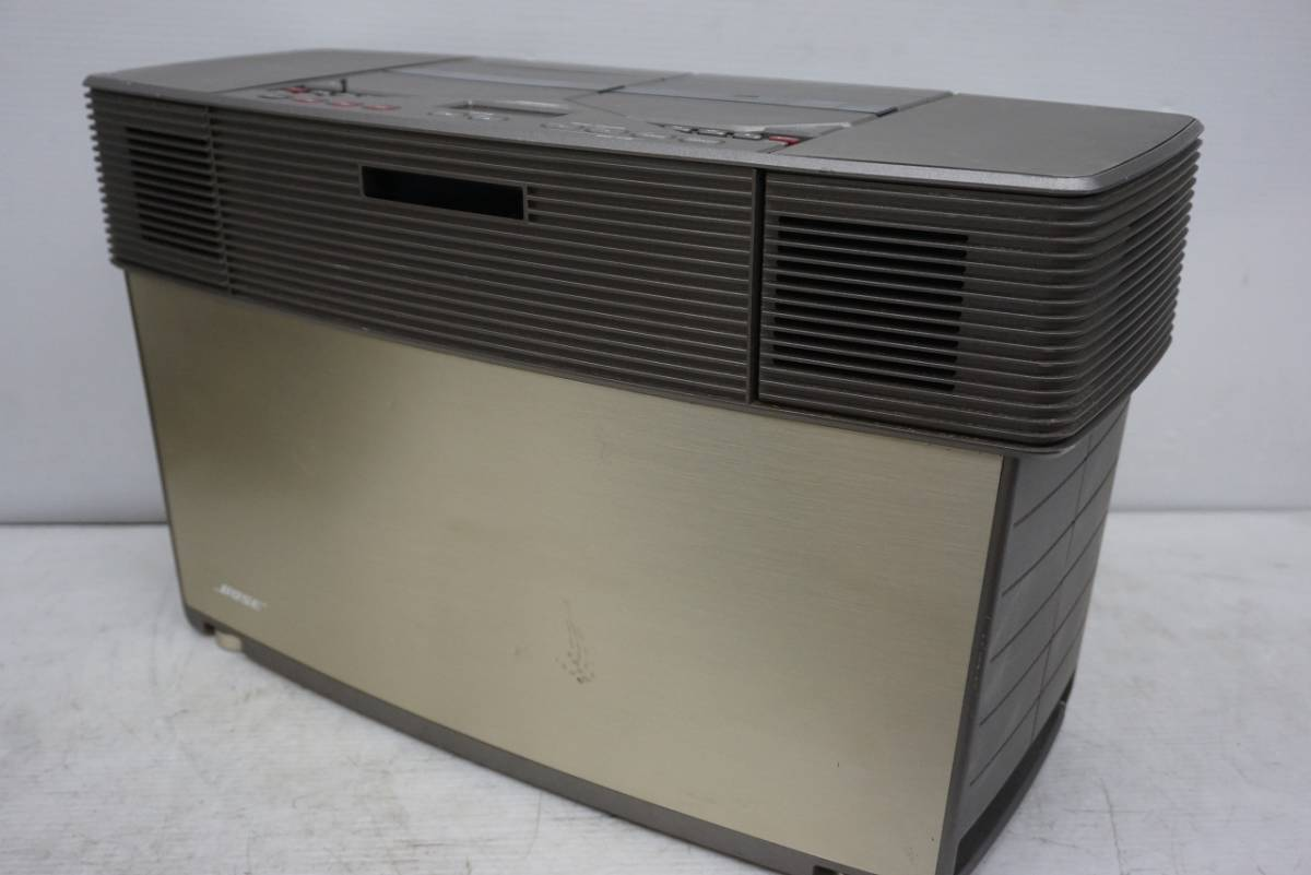 (w05145) BOSE CDラジカセ ACOUSTIC WAVE STEREO MUSIC SYSTEM AWM ボーズ ジャンク_画像2