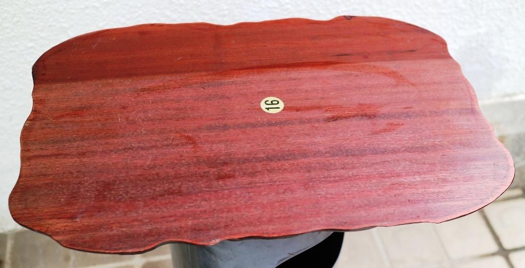 (0520) 天然木 削り出し 敷板 盆栽台 花台 飾り物台 48×32cm 16号_画像4
