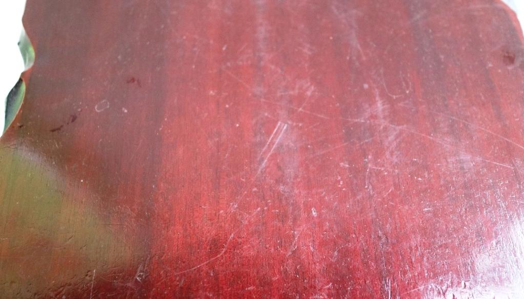 (0520) 天然木 削り出し 敷板 盆栽台 花台 飾り物台 48×32cm 16号_画像6
