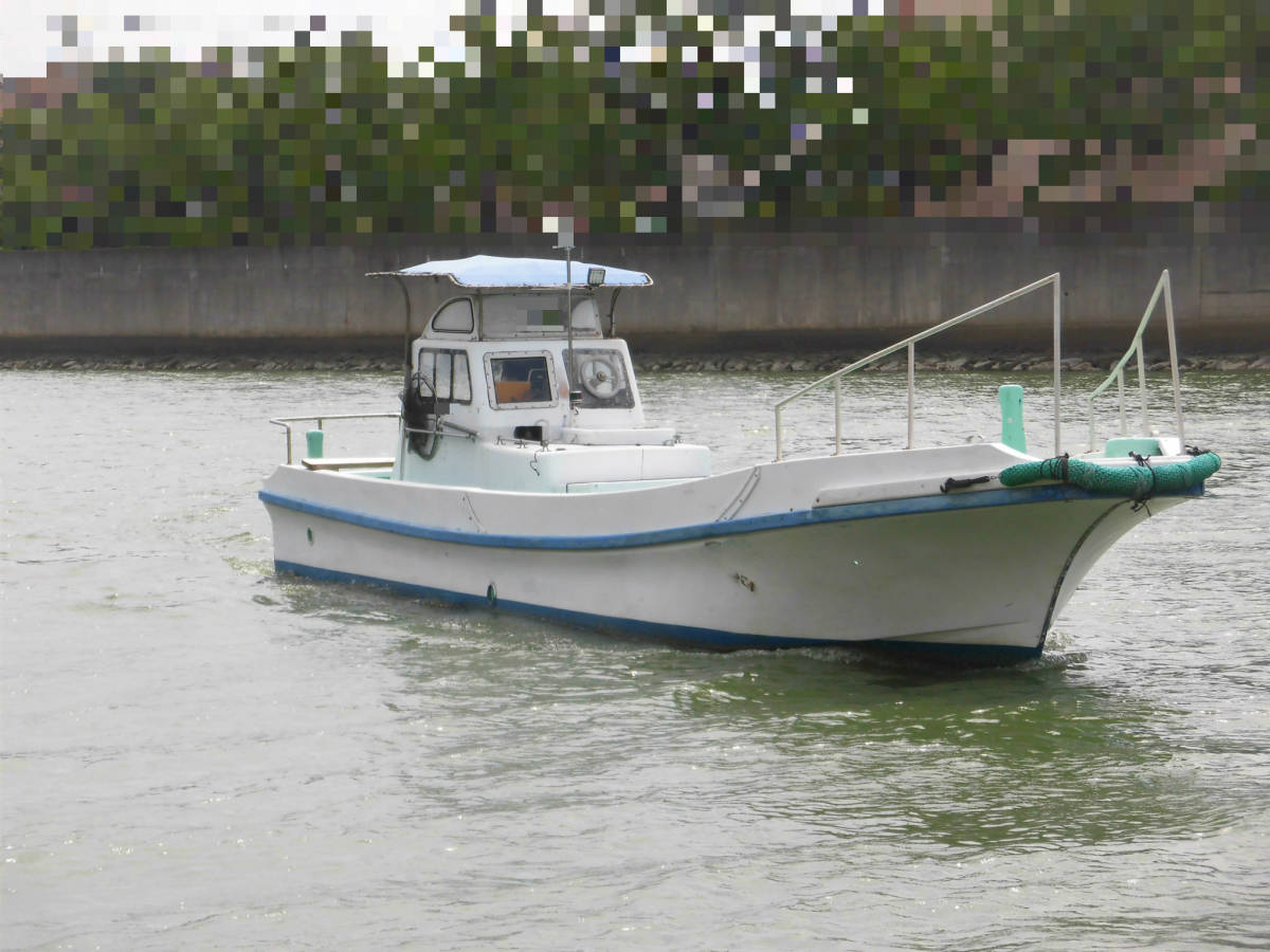 八光ボート (33ft)シャフト船ー本キール