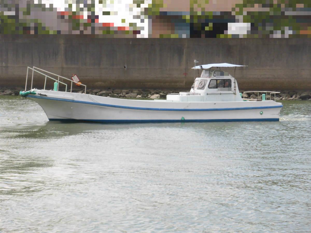 八光ボート (33ft)シャフト船ー本キール_画像2