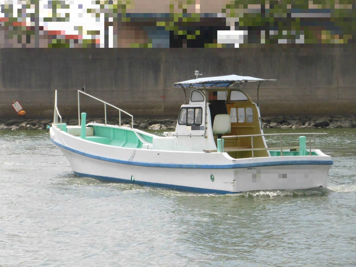 八光ボート (33ft)シャフト船ー本キール_画像3