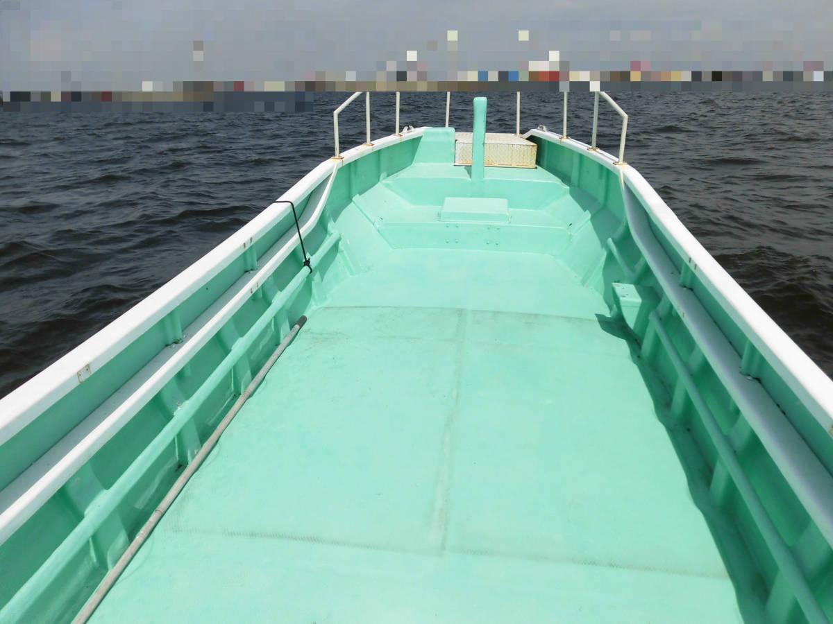 八光ボート (33ft)シャフト船ー本キール_画像4