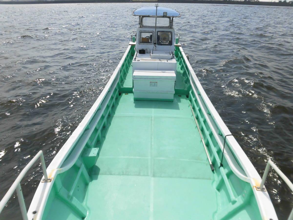 八光ボート (33ft)シャフト船ー本キール_画像5