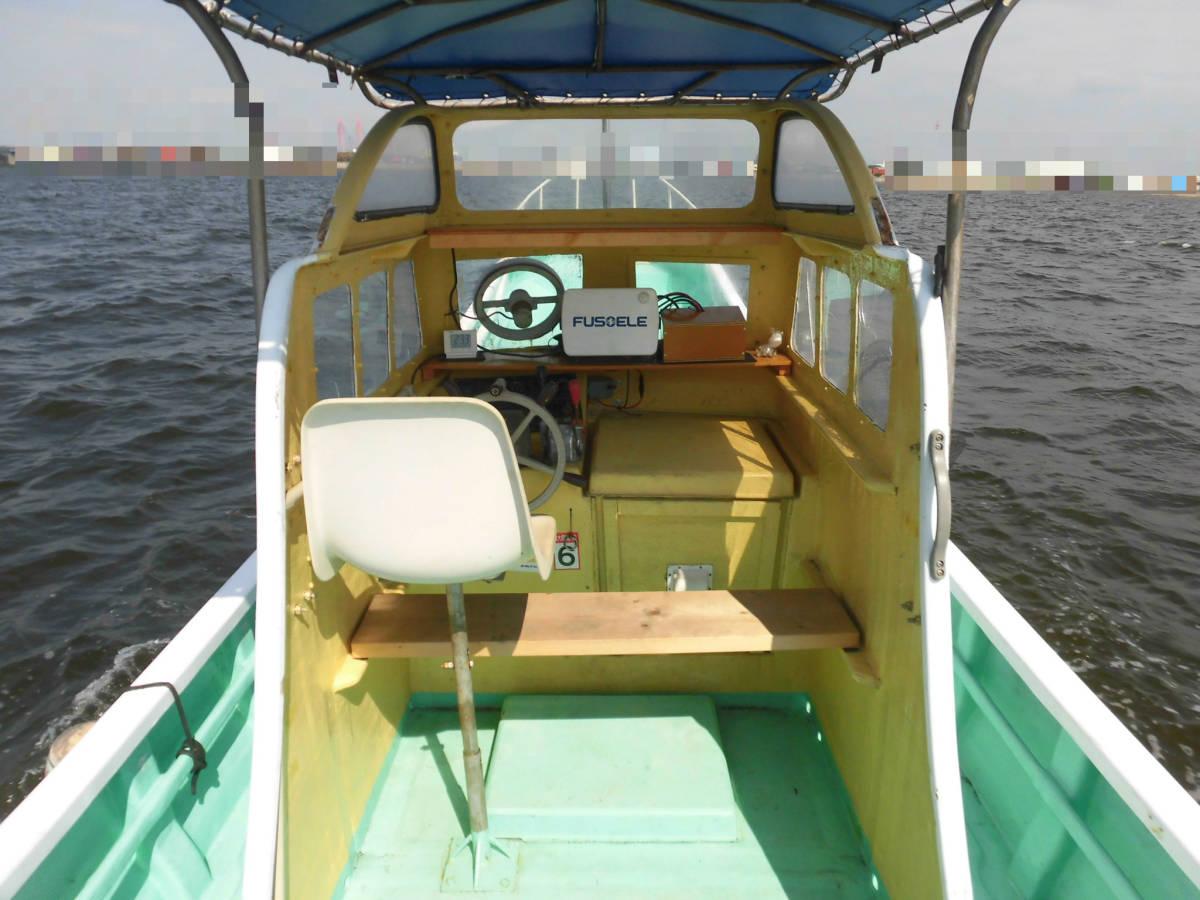 八光ボート (33ft)シャフト船ー本キール_画像6