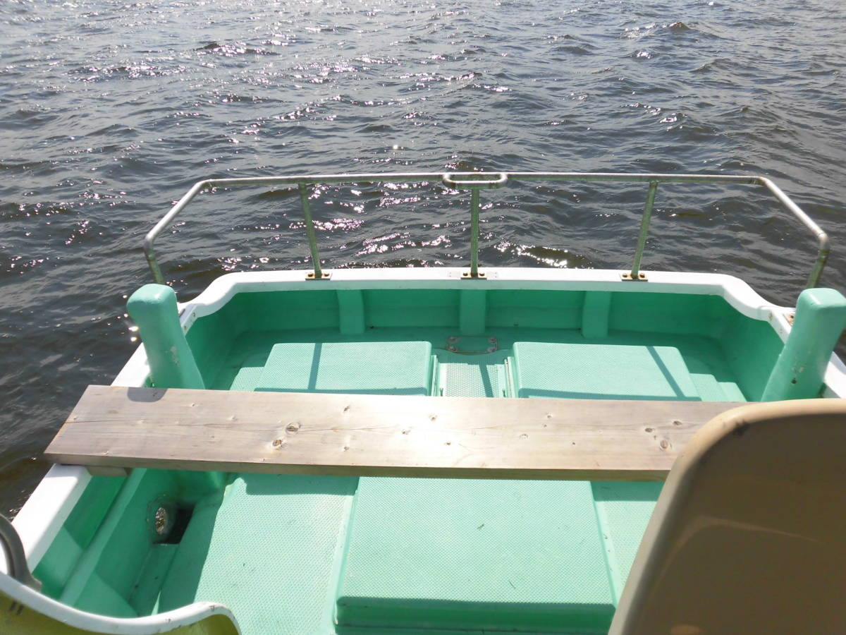 八光ボート (33ft)シャフト船ー本キール_画像7