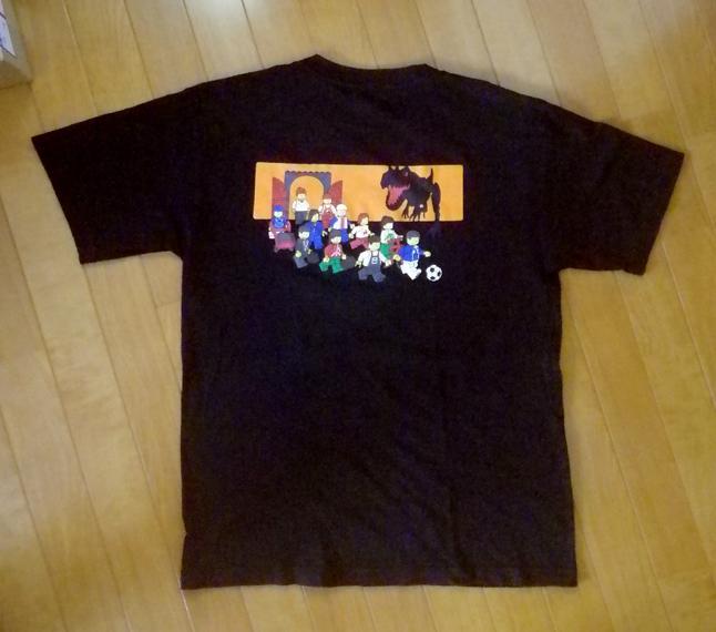LEGO レゴ ★ Tシャツ 「恐竜」 メンズ Lサイズ 検)レゴブロック、ミニフィグ_画像3