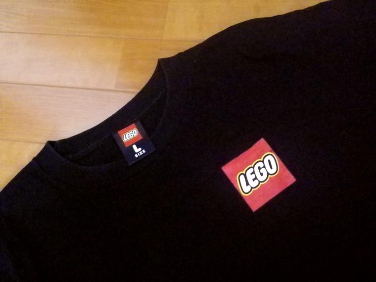 LEGO レゴ ★ Tシャツ 「恐竜」 メンズ Lサイズ 検)レゴブロック、ミニフィグ_画像6