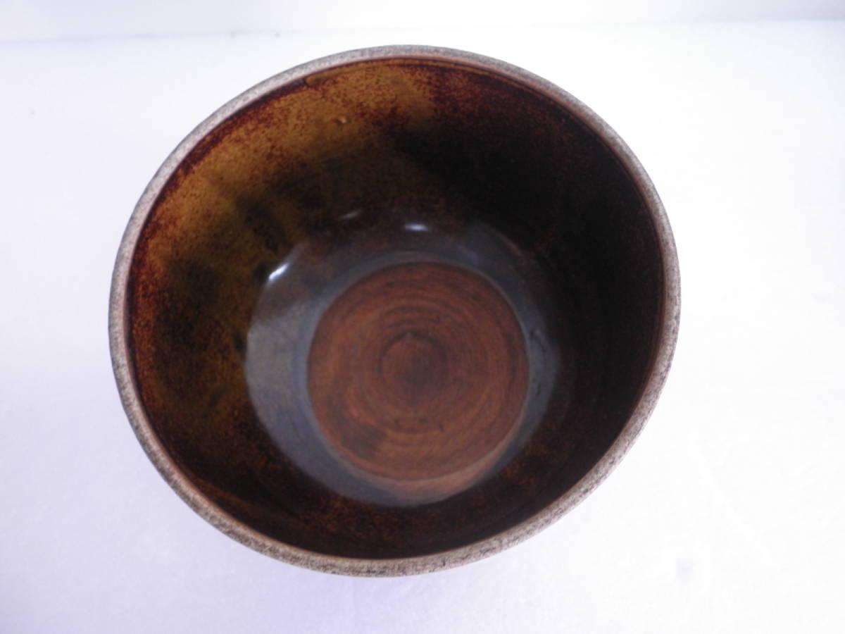 茶器 抹茶茶碗 茶道具 骨董品 宝善 宝善亭印有 共箱 置物 和風小物 インテリア_画像4