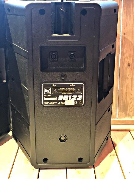 美品 EV Electro Voice エレクトロボイス SB122 サブウーファーシステム スピーカー 天吊りブラケット付き_画像5