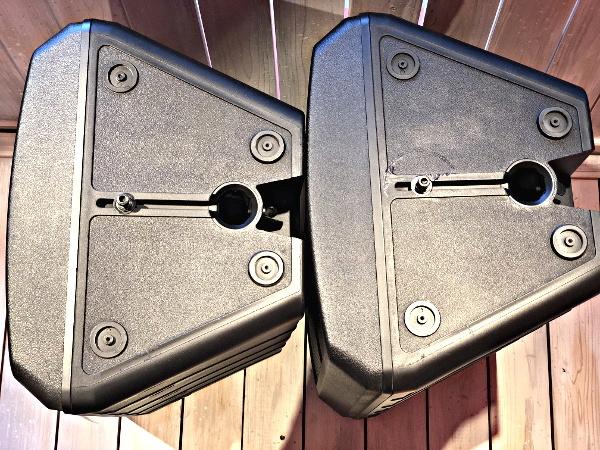美品 EV Electro Voice エレクトロボイス SB122 サブウーファーシステム スピーカー 天吊りブラケット付き_画像2