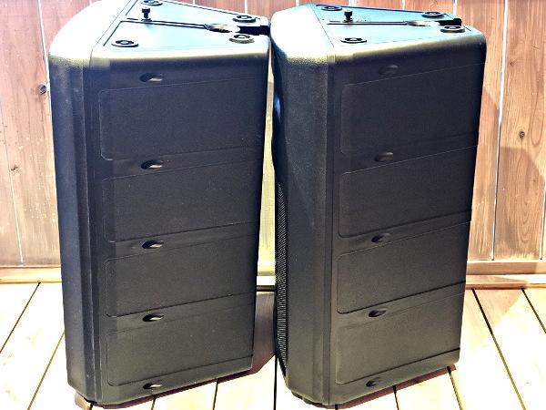 美品 EV Electro Voice エレクトロボイス SB122 サブウーファーシステム スピーカー 天吊りブラケット付き_画像3