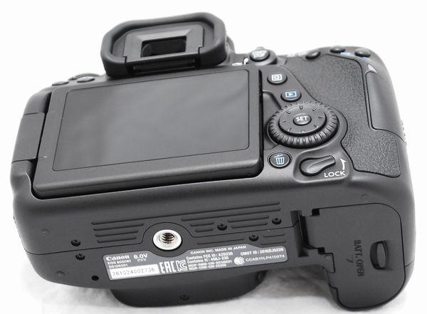 【超美品・メーカー保証書 付属品完備】Canon キヤノン EOS 80D_画像10