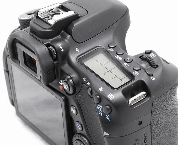 【超美品・メーカー保証書 付属品完備】Canon キヤノン EOS 80D_画像6