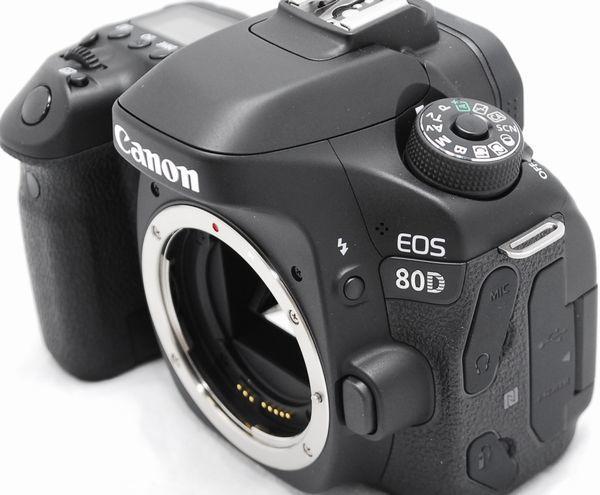 【超美品・メーカー保証書 付属品完備】Canon キヤノン EOS 80D_画像4
