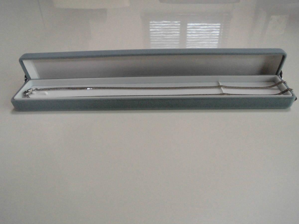 プラチナネックレス 50cm 12.75g PT850 喜平 6面ダブル_画像3