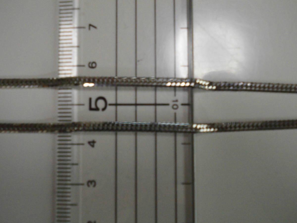 プラチナネックレス 50cm 12.75g PT850 喜平 6面ダブル_画像4