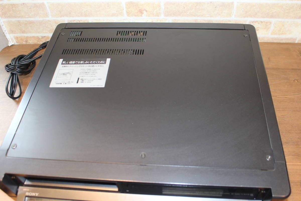 SONY ベータデッキ SL-2100 ジャンク ソニー リモコン付き_画像5
