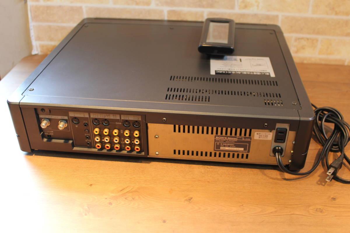SONY ベータデッキ SL-2100 ジャンク ソニー リモコン付き_画像6