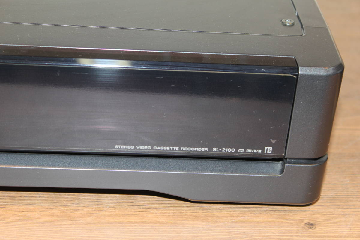 SONY ベータデッキ SL-2100 ジャンク ソニー リモコン付き_画像2