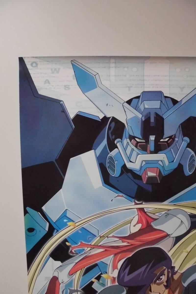ポスター 「神魂合体ゴーダンナー!!」 ポスター 印刷物 B2 カラー (中古)_左上部分のアップです。