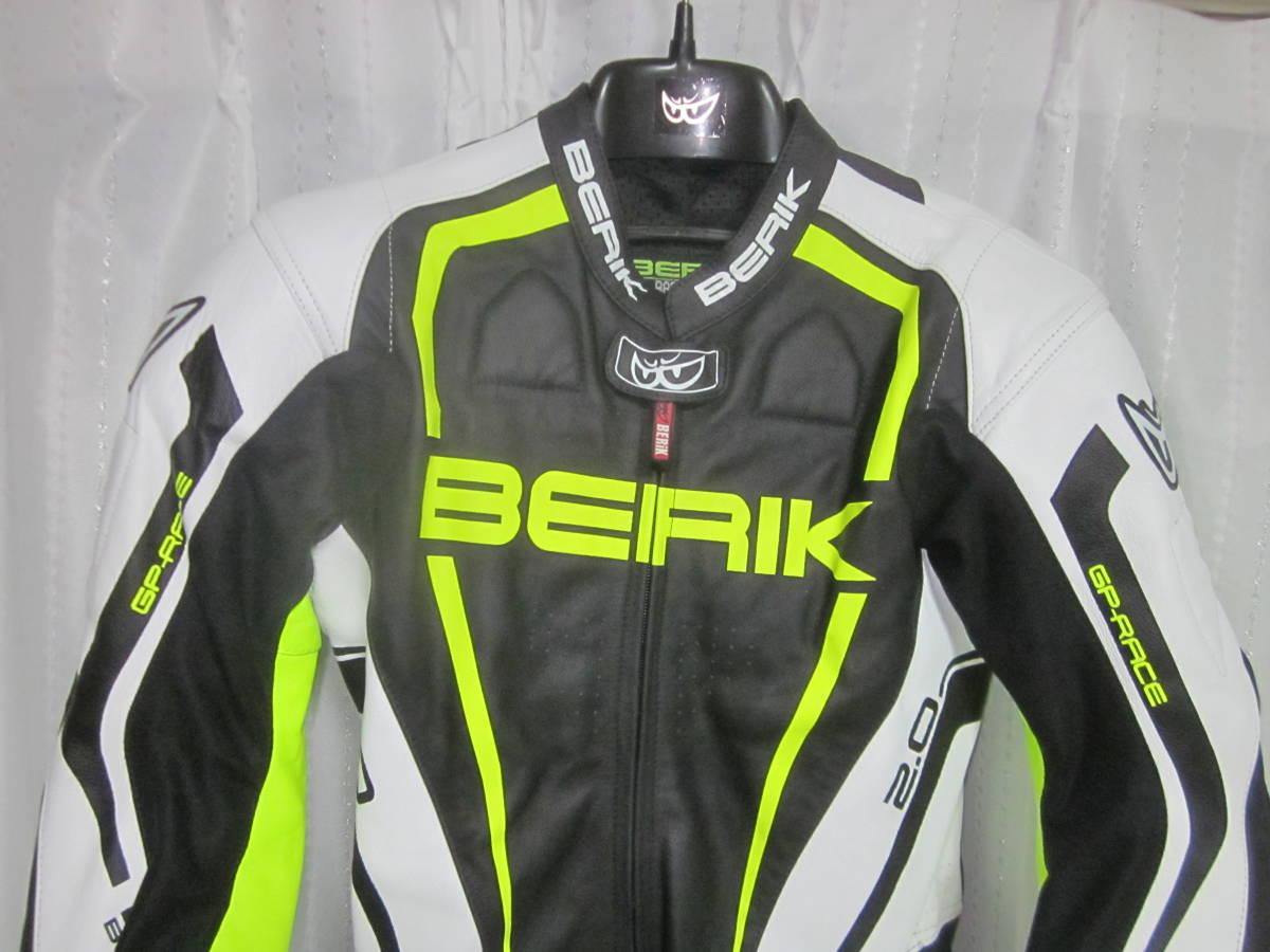 レーシングスーツ ベリック サイズ54(XXL) 黄色 中古美品(試着のみ) 黄色 BERIK_画像2