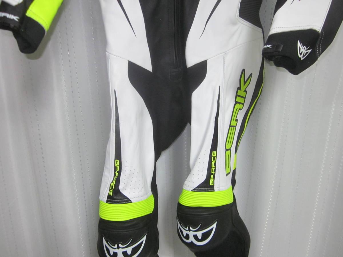 レーシングスーツ ベリック サイズ54(XXL) 黄色 中古美品(試着のみ) 黄色 BERIK_画像4