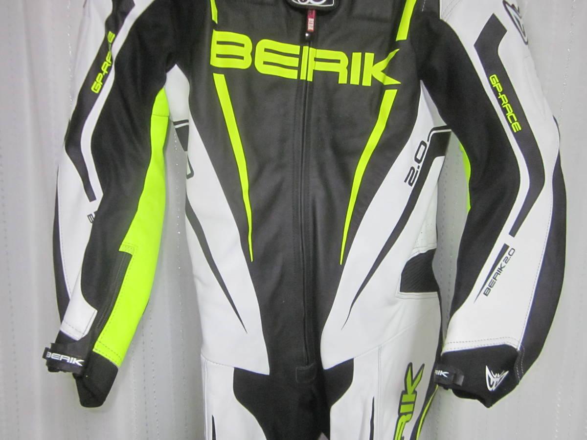 レーシングスーツ ベリック サイズ54(XXL) 黄色 中古美品(試着のみ) 黄色 BERIK_画像3