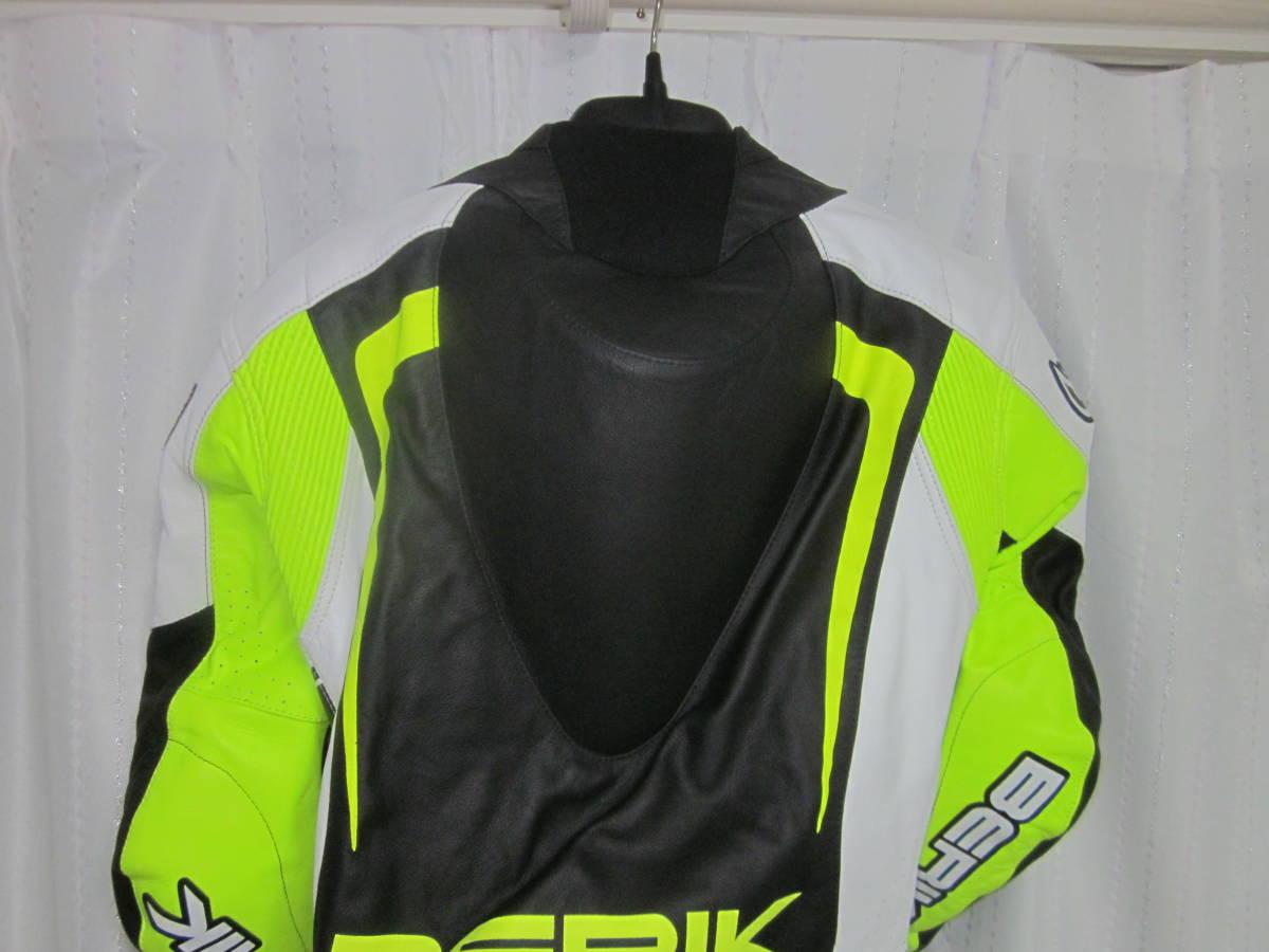 レーシングスーツ ベリック サイズ54(XXL) 黄色 中古美品(試着のみ) 黄色 BERIK_画像6