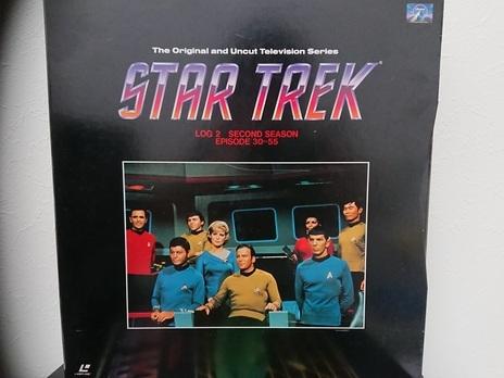 6970 スタートレック STAR TREK TV ファースト~サード シーズン LD レーザーディスク 全3巻 BOX セット 売切り 1品限り_画像3