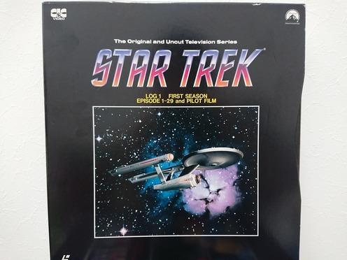 6970 スタートレック STAR TREK TV ファースト~サード シーズン LD レーザーディスク 全3巻 BOX セット 売切り 1品限り_画像2