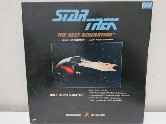 6970a 新スタートレック ネクストジェネレーション レーザーディスク LD-BOX 1~7 売切り 1品限り_画像4