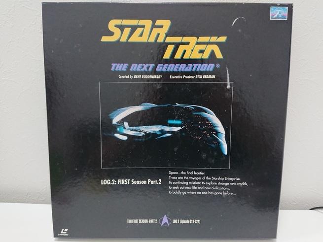 6970a 新スタートレック ネクストジェネレーション レーザーディスク LD-BOX 1~7 売切り 1品限り_画像3