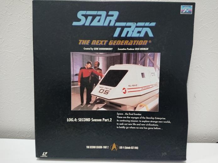 6970a 新スタートレック ネクストジェネレーション レーザーディスク LD-BOX 1~7 売切り 1品限り_画像5
