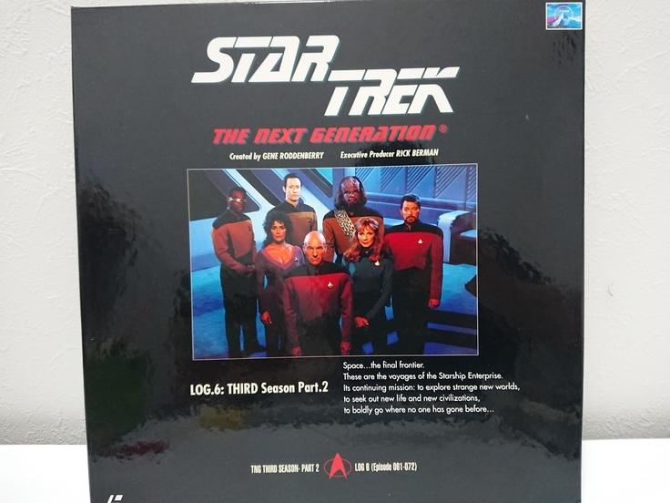 6970a 新スタートレック ネクストジェネレーション レーザーディスク LD-BOX 1~7 売切り 1品限り_画像7