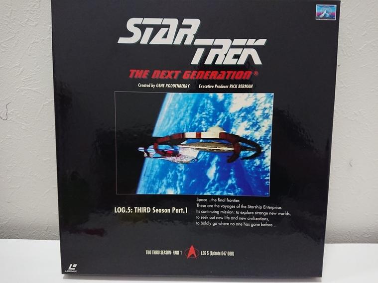 6970a 新スタートレック ネクストジェネレーション レーザーディスク LD-BOX 1~7 売切り 1品限り_画像6