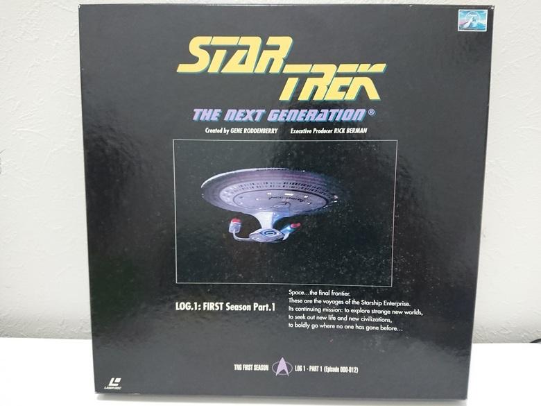 6970a 新スタートレック ネクストジェネレーション レーザーディスク LD-BOX 1~7 売切り 1品限り_画像2