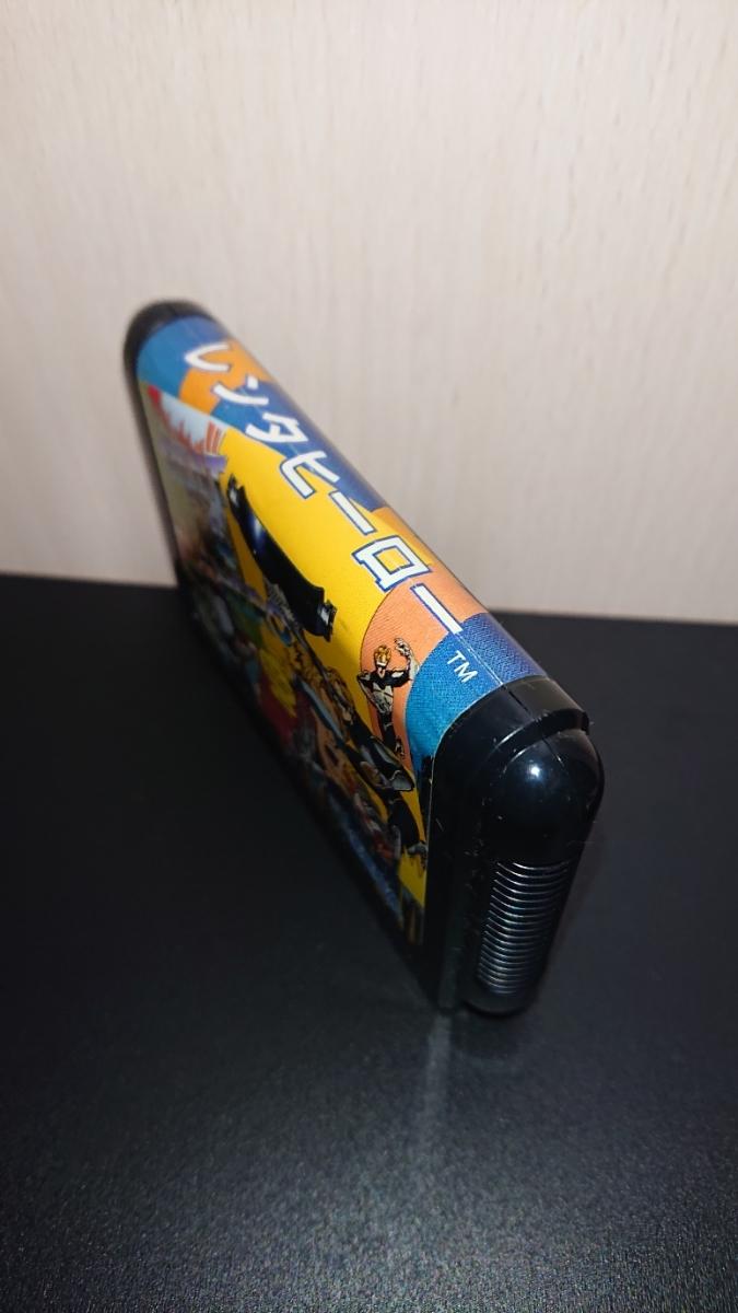 1円~MD「レンタヒーロー」メガドライブソフト 箱、説明書付き。_画像4