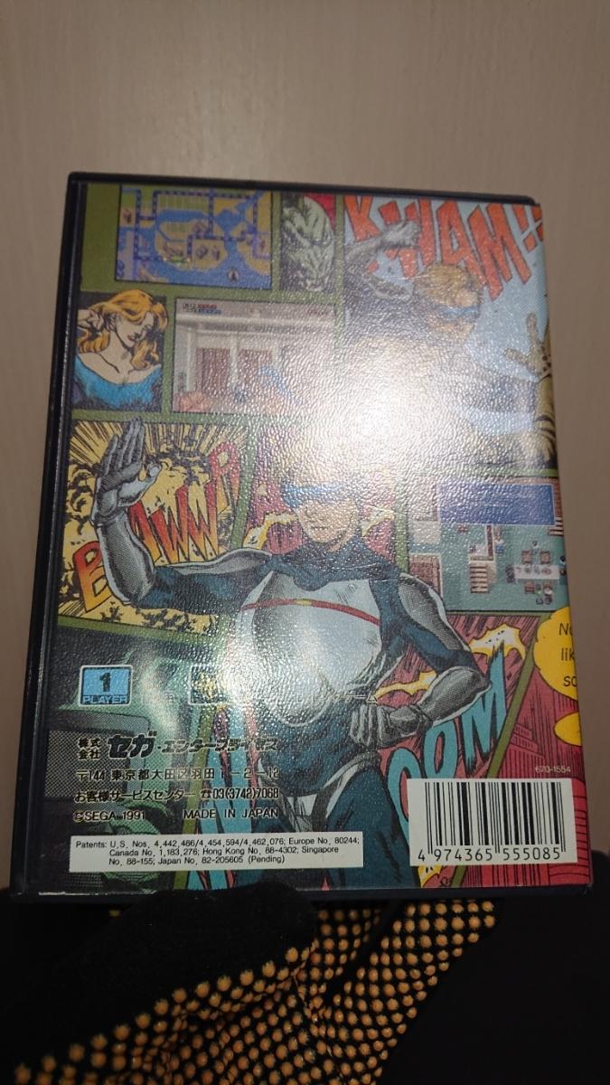 1円~MD「レンタヒーロー」メガドライブソフト 箱、説明書付き。_画像9