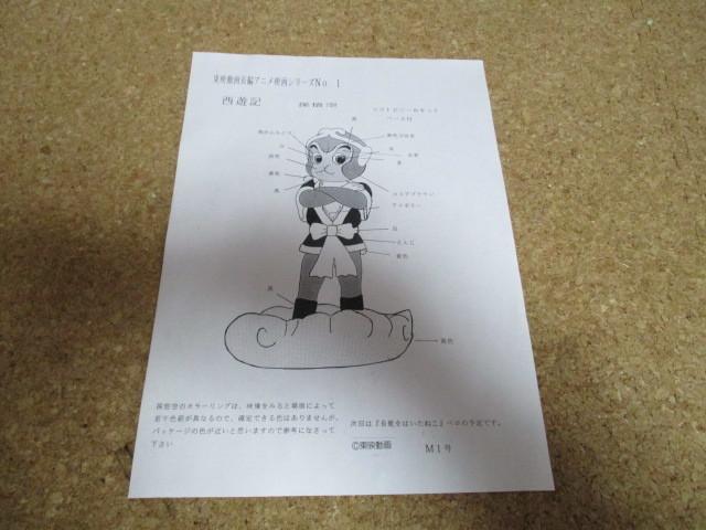 M1号 孫悟空 ソフビ キット 東映動画長編アニメ映画シリーズ 西遊記 東映_画像5