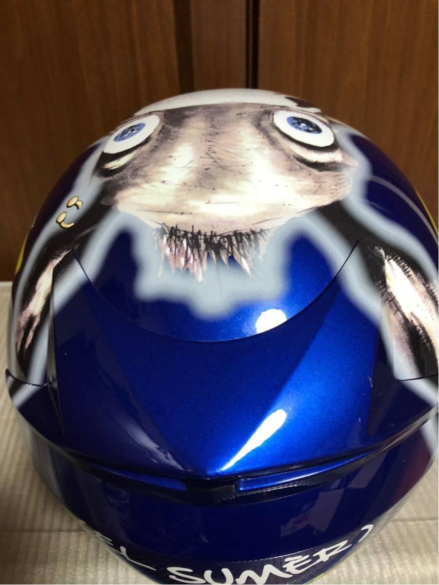 ★AGV MOTO-GP ロッシ46 ヘルメット★サイズL 2回使用だけ美品_画像6