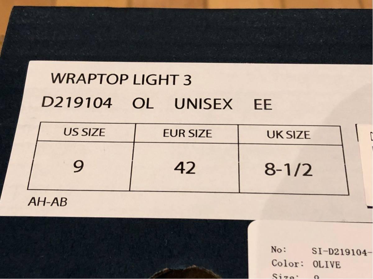 ダナーラップトップ3 レインシューズ WRAPTOP LIGHT3_画像9